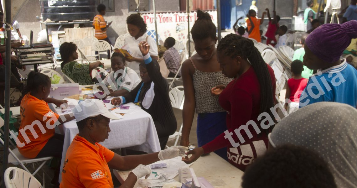 COMMUNITY ADOLESCENT HEALTH CLUB EMBARKS ON HEALTH SCREENING