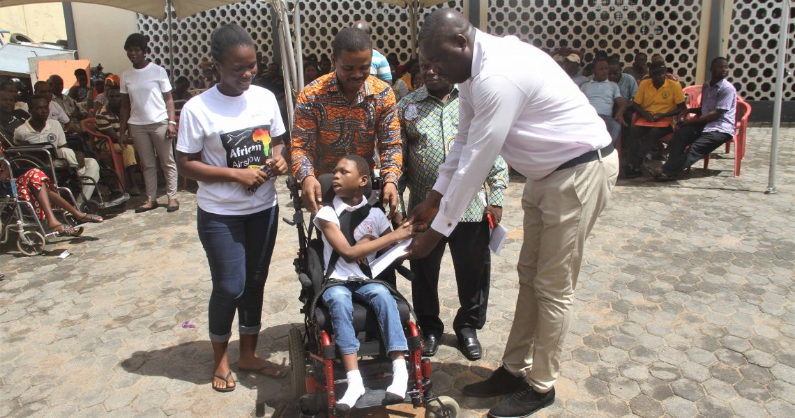 PERSONS WITH DISABILITIES RECEIVE SUPPORT FROM GOVERNMENT.