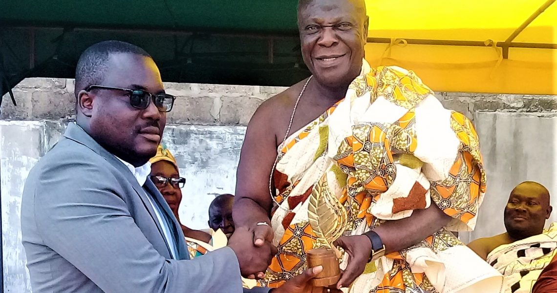 MAYOR RECEIVES A SURPRISE HONOR FROM TEMA MANTSE