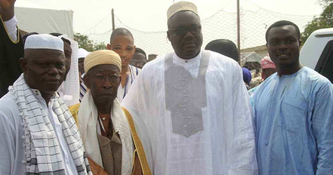 TEMA-MAYOR HOSTS RAMADAN CELEBRANTS