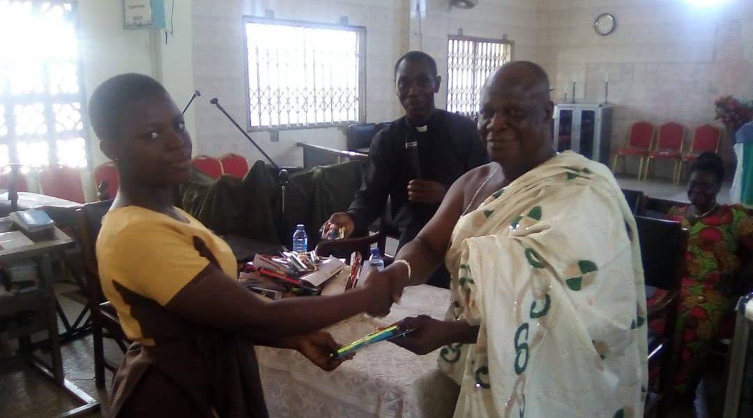 TEMA MANTSE DONATE TO BECE CANDIDATES IN TEMA